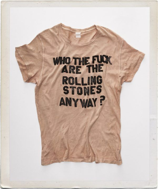 Who The F*ck Are The Rolling Stones Concert T-Shirt 1
