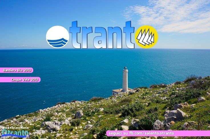 Otranto, Faro di Punta Palascìa, punto più orientale d'Italia.
