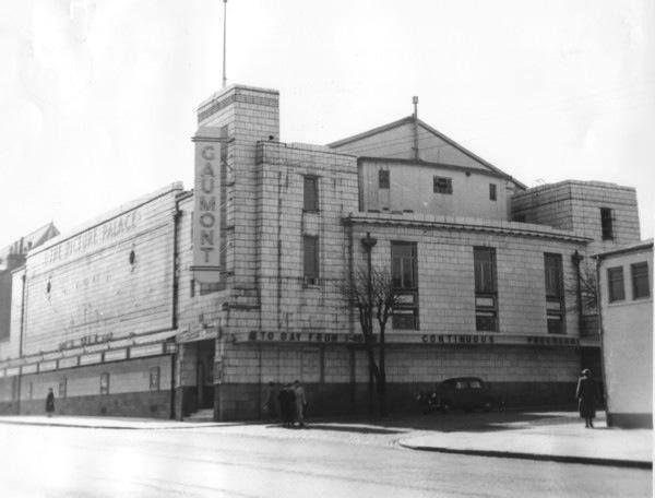 The old Gaumont cinema in Greenock.