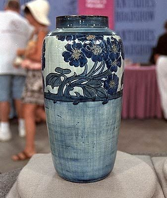 Newcomb Pottery: Cream of the Crop |  Antiques Roadshow. See also the link, about why Newcomb Pottery is so valuable. It has to do with the school itself. http://www.pbs.org/wgbh/roadshow/fts/savannah_200301A05.html#