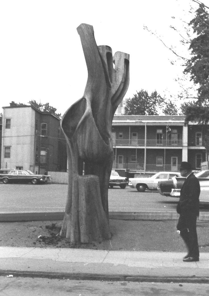 Galerie arbre de la rue durocher armand vaillancourt for Fenetre vaillancourt