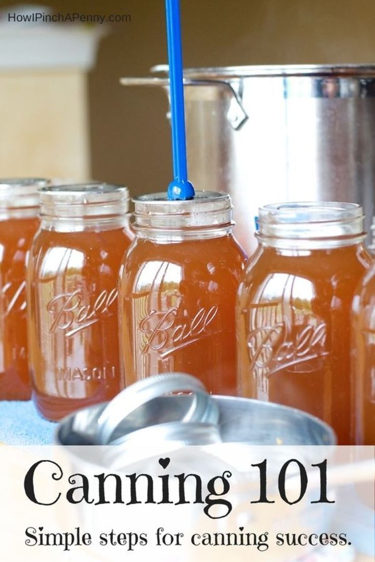 Canning 101. Simple steps for canning success. Preserve the goodness that comes from your kitchen with this simple guide.