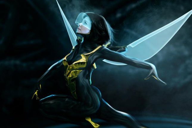 Evangeline Lilly as Wasp EvangelineLilly liked Miguel @MickDdr on Twitter: Happy birthday