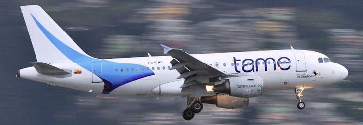 TAME Ecuador Airbus A319-100