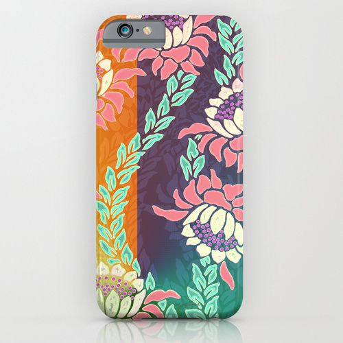 Sunrise iPhone & iPod Case by Vikki Salmela on Society6, #new #brigh #fun #tropical #sunrise #protea #flower on #tech #fashion #accessory #tech #cases for #work #home #gift #iPhone #iPhone6