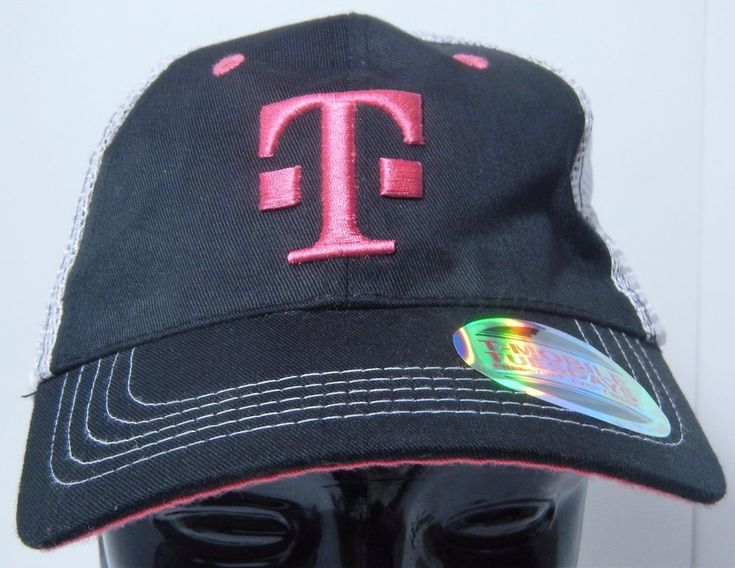 T-Mobile Tuesdays Baseball Trucker Hat Black Pink White Mesh Snapback SHIPS FREE #TMobile #BaseballCap