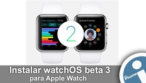 Instalar nueva #actualización de Apple para reloj inteligente - #watchOS 2.0 beta 3. Update del sistema #Apple #Watch para desarrolladores.