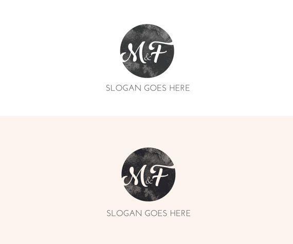Logo/Premade Logo/Photography Logo/Pink Logo/Simple Logo/Typography Logo/Brand Kit/Round Logo/Business Identity