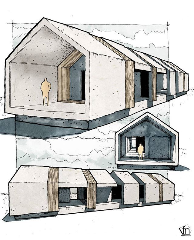 Modern Architecture Perspective 430 best sketching journaling images on pinterest | journaling