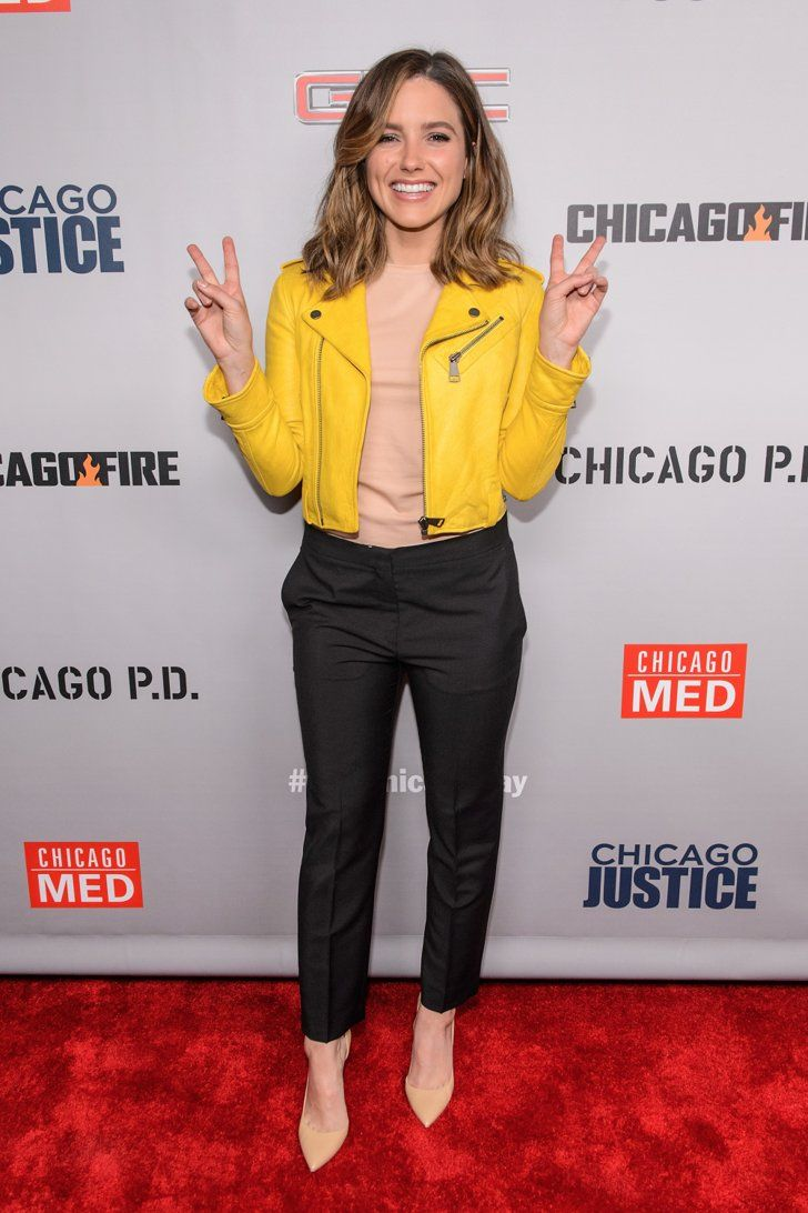 Sophia Bush Proves Yellow Is Not Just a Spring Color