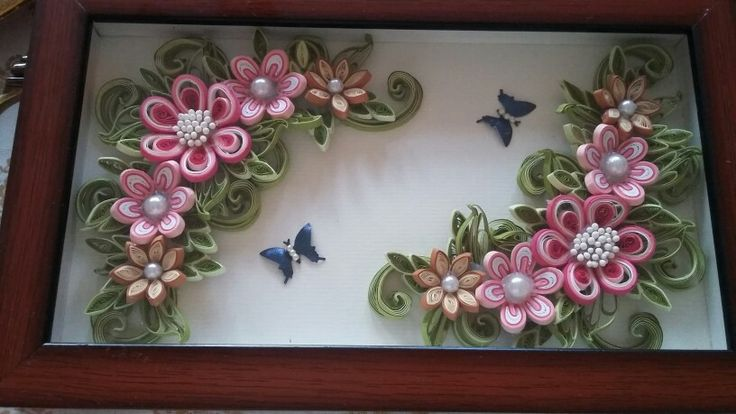 *QUILLING ~ tray