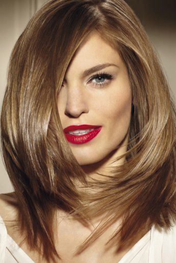 coloration chatain clair - Coloration Blonde Sur Cheveux Chatain