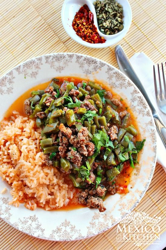 Nopales recipe with ground beef