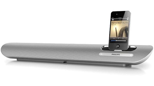 Aluminum Speaker Dock Looks Right At Home Under Your iMac