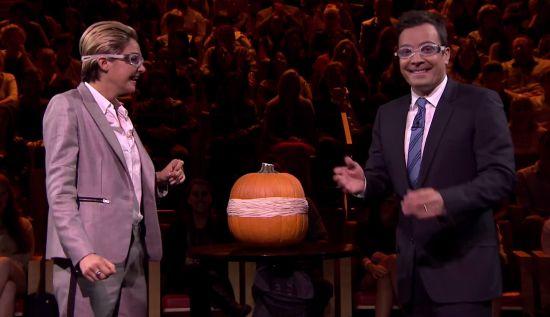 Pumpkin Time-Bomb 3 Act Math Experiment