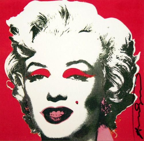 Andy Warhol, MARILYN (ANNOUNCEMENT), 1981, Marcel Katz