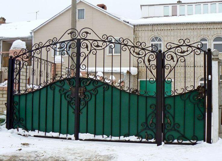 """кованые ворота   Кованые ворота - ООО """"Кованый стиль ..."""