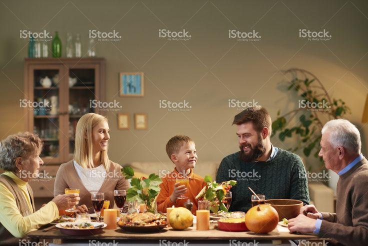Felice Giorno del Ringraziamento Foto di Stock 76346795 - iStock