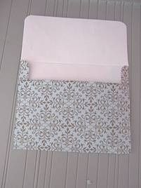 Formula for making your own envelopes for any size card.