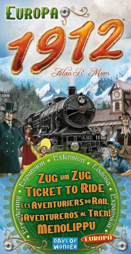 Amazon.com: Ticket To Ride 1912 Expansion: Toys & Games