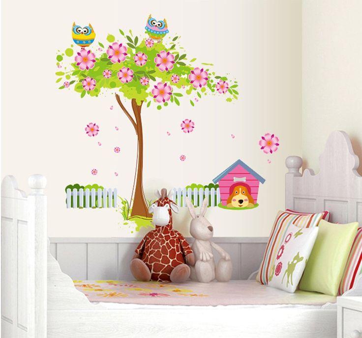 17 migliori idee su decorazione da parete ad albero su - Decorazione parete cameretta ...