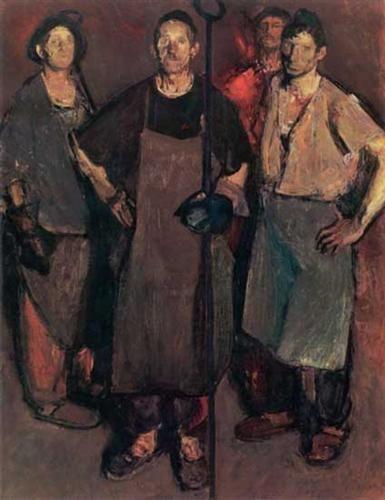 Steel Workers - Corneliu Baba
