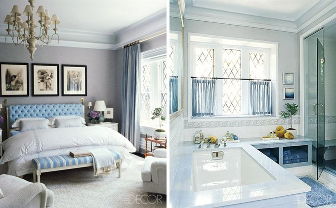 Love the pale grey and pale blueDreams Bedrooms, Decor Ideas, Turquoise Bedrooms, Elle Decor, Blue Bedrooms, Master Bedrooms, Bedrooms Ideas, Gray Wall, Beautiful Bedrooms