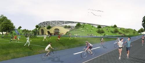 Nine architects shortlisted in race to design eco-stadium for Forest Green Rovers FC