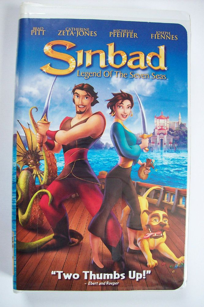SINBAD Legend of the Seven Seas w/ Brad Pitt C. Zeta Jones ...