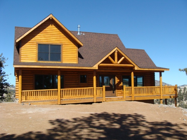 Guffy Lang Log Homes Green Mountain Falls Co