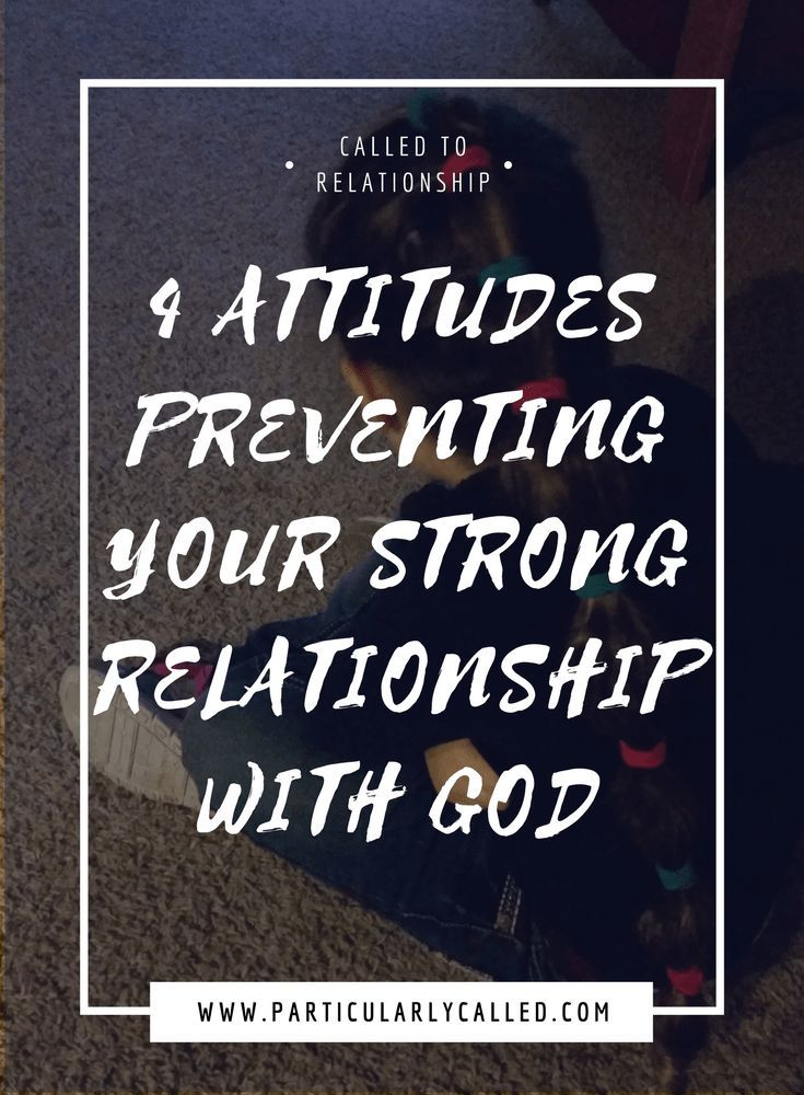 how to start a personal relationship with god