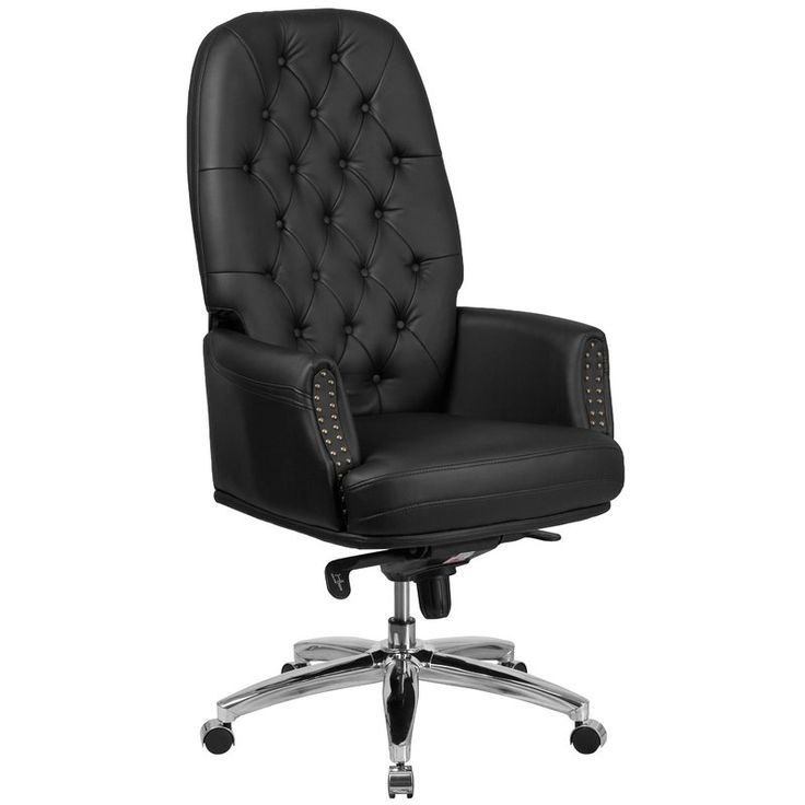 This Broadwell Traditional Tufted Swivel High Back Executive Chair combines  old world craftsmanship with modern seating principles  giving you a chair  that  Best 25  Office chair back support ideas on Pinterest   Desks at  . Good Chairs For Back. Home Design Ideas