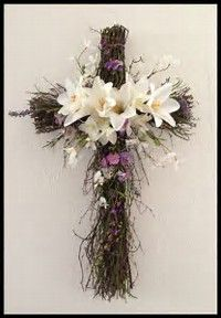 Image result for Easter Cross Wreath