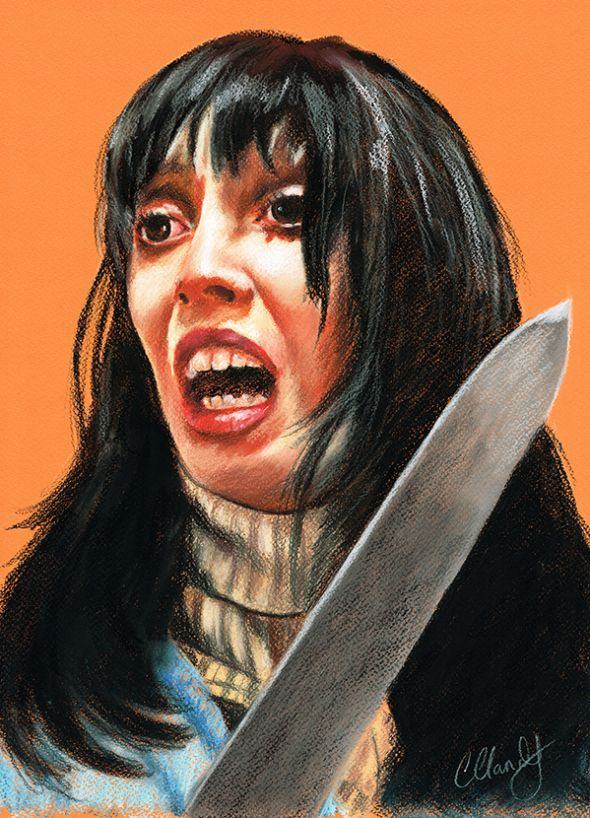 Shelley Duvall - Original Pastel Artwork.