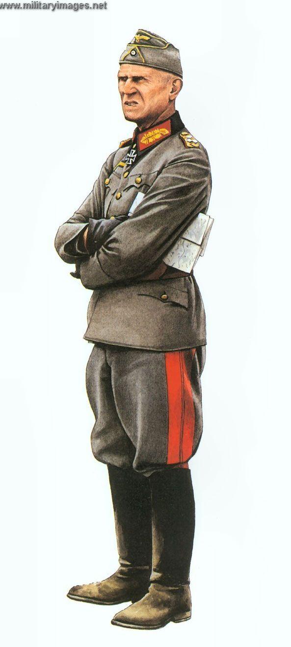 Uniform Colonel General Third Panzer Group