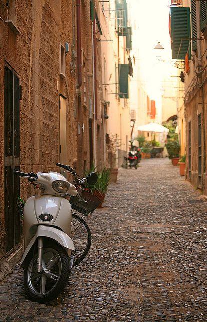 Alghero Streets - Sardinia, Italy