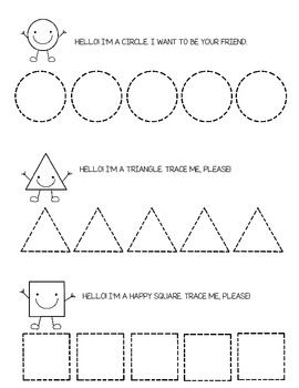 tracing shapes circle square triangle and more tracing shapes tracing worksheets and. Black Bedroom Furniture Sets. Home Design Ideas