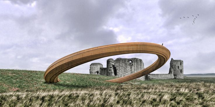 "Plans for ""Iron Ring"" Sculpture in Wales Put on Hold After Public Outcry"