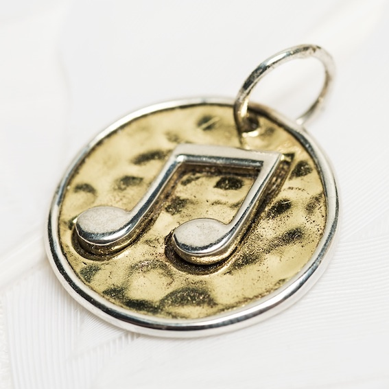 Music note charm #2022