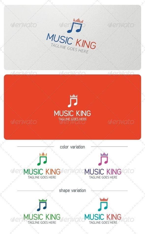 Music King Logo Template