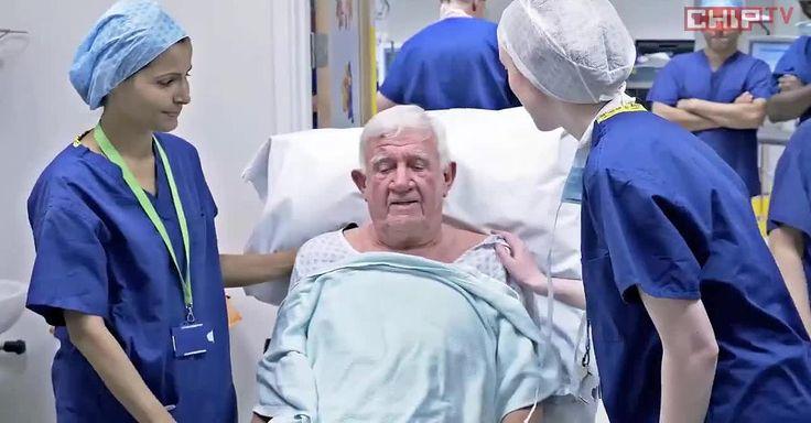 Mit künstlicher Netzhaut: Blindheit besiegt: Mann sieht dank bionischem Auge wieder - Video - Video - FOCUS Online