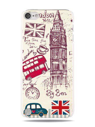 GRÜV Case - Trés Chic! - Design 'Londres bus Impériale Deux Etages' - Impression de Haute Qualité sur Coque Rigide Blanc - pour Apple iPod Touch 5 5G , http://www.amazon.fr/dp/B00J79ORQS/ref=cm_sw_r_pi_dp_yiIAub0KHEPG3