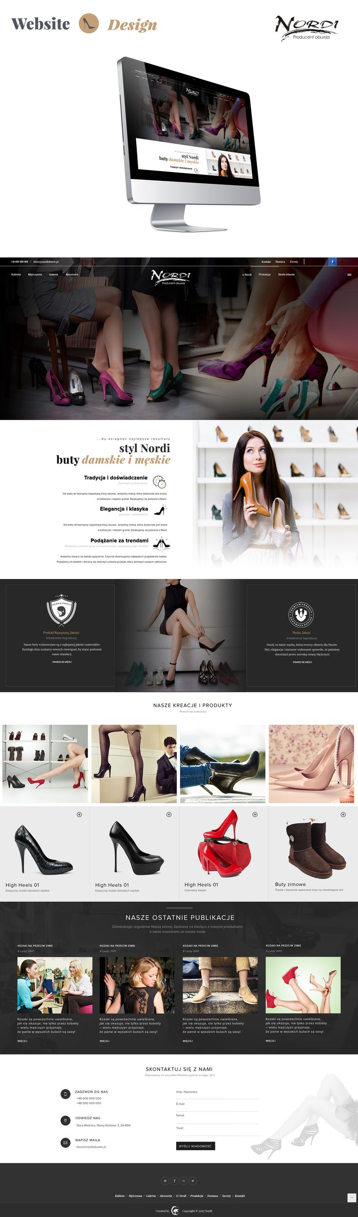 Nordi Shes - Website Design