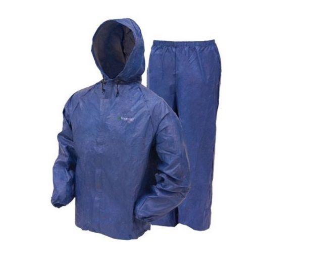 Frogg Toggs Ultra-Lite Men's Rain Suit, Medium, Blue