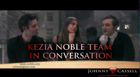 Kezia Noble team in conversation | Pick up artist's discuss The Game