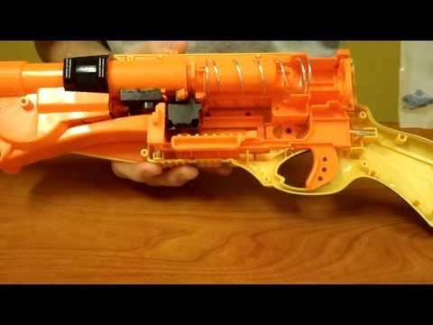 How to: The ULTIMATE Nerf Barrel Break IX-2 Mod Tutorial (Air Restrictor, Epoxy, and E-Tape)) - YouTube