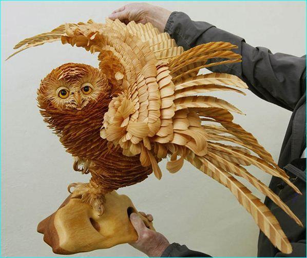 25 Beautiful Creative Wooden Sculptures