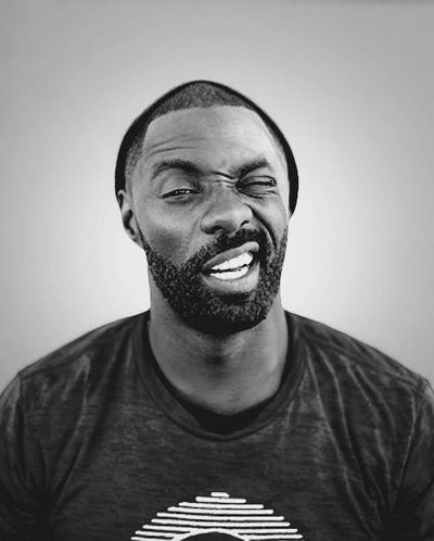 Idris Elba, love him with a beard.