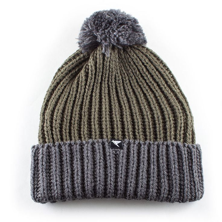 Merino Wool Bobble Hat from The Green Wave