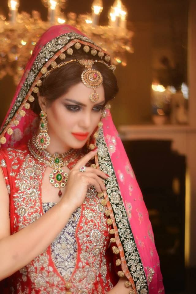 Nadia Hussain salon. Makeup by Yasmeen Saher